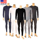 Внешний вид - Knocker Men 2PC Thermal Underwear Set Top Bottom Long John Waffle Johns Pants