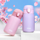 ONE Mini Vacuum Mug Bounce Cap Thermos Stainless Steel Water Bottle Travel Cup