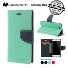 For iPhone X 7 8 6 6S Plus 5 5S Wallet Flip CASE MERCURY FAN
