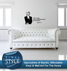 SEAN CONNERY JAMES BOND DECAL STICKER WALL ART GRAPHIC VARIOUS COLOUR $72.68 AUD
