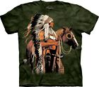 Mountain Erwachsen Painted and Proud Indianer T Shirt