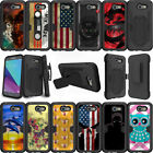 For Samsung Galaxy J3 Eclipse | J3 Mission (2017) Case Holster Clip Kickstand