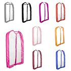 "DALIX Clear Garment Bags 40"" Transparent PVC Travel Suit Cover Costume Dance"