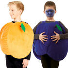 Fruit Kids Fancy Dress Food Novelty Fun Book Day Boys Girls Childrens Costumes