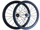 1620g 60mm Depth Clincher Tubular Carbon Wheels Top Quality Track Fixed Gear