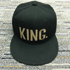 Adjustable Letter King And Queen Hat Baseball Cap Hats Hip Hop Lovers Couple Hat