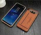 Fits Samsung Galaxy Luxury Ultra Thin Leather Hybrid Bumper Protective Case Cove