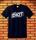 James Bond  Han Solo Licensed to Shoot First T-Shirt Navy blue colours 3 $23.99 USD