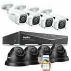 ANNKE 5IN1 8CH DVR 1080P HDMI Outdoor IR Night CCTV Security Camera System US
