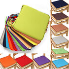 Home Office Kitchen Patio Chair Cover Seat Pad Mat Cushion Tie On Decor 40*40cm
