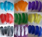 Wholesale 25-500pcs Beautiful Natural goose feather 7-13cm / 3-5 inches