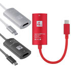 USB 3.1 Type C USB-C zu 4K HDMI HDTV Adapter Kabel für Samsung S8 Note 8 Macbook