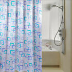 59''/79'' PEVA Shower Curtain Bathrooms Mold-resistant with Hooks Random Pattern