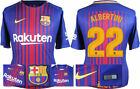 17 / 18 - NIKE ; BARCELONA HOME SHIRT SS / ALBERTINI 22 = ADULTS