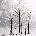 Frosted Silver Birch Twig Snow Tree Lights Lamp 30/75/88LED Xmas/Wedding/Party