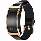 CK11S Men's Smart Band Wristwatch Fitness Blood Pressure Heart Rate Monitor IP67
