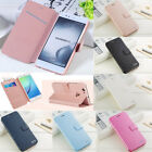 For Huawei P9 Lite Mini Mate 10 Lite Luxury Flip Leather Slim Wallet Case Cover