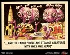 1959 Topps / Bubbles Inc You'll Die Laughing #25 . . . And the earth peopl EX/MT