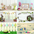 Happy Easter Day Baby Kid Photography Background Vinyl Photo Backdrop Prop 3x5ft