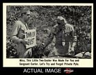 1965 Fleer Gomer Pyle #62 Miss this Little Two-Seater NM/MT