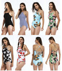 Fashion Women Swimsuit Push Up Padded Bikini Swimwear One Piece Bandage Monokini
