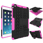Shockproof Heavy Duty Armor ipad Case Cover For iPad 56 Mini1234/Pro 9.7 Air2 LN