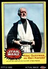 1977 Topps Star Wars #195 Alec Guinness as Ben Kenobi EX $3.75 USD on eBay