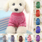 New Pet Dog Warm Winter Jumper Sweater Clothes Puppy Cat Knitwear Knitted Coat