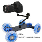 Mini Camera Rail Track Slider Table Dolly Car for Canon 5DII 7D 60D SLR Camera