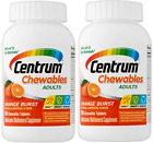 Centrum Adlt (100 Cnt) Multivitamin - Multimineral Supp. Chewable Tablt (2 Pack)