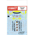 Studio27 DC1017 1:24 Mersedes-Benz SLS AMG GT3 #84 Spa24H 2013 Original Decals