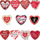 "Valentine Happy Valentine's Day I Love You Heart 18"" Foil Balloon Decorations"
