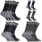 Mens Heavy Weight Reinforced Toe Work Boot Socks (Pack Of 4) (MB153)