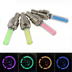 2 8X LED Lamp Flash Tyre Wheel Valve Cap Light For Car Bicycle Motorbicycle EVz