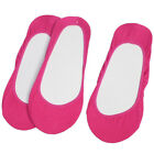 3 Pairs Invisible Low Cut Ladies Elastic Slipper Heels Loafer Boat Socks