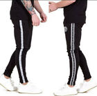Bodybuilding Men's Athletic Casual Jogger Slim Fit Skinny Sweatpants Fashion Gym
