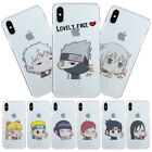 Ultra Thin Cute NARUTO Tomoe Anime Clear Phone Case Cover Fo
