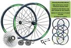 700c Road Racing Bike 8/9/10 Speed Front Rear Wheel Set AERO Shimano Lacing