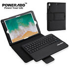 For Apple iPad 4/5 /Air /Air 2 Stand Leather Case Cover with Bluetooth Keyboard