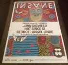 INSANE @ PACHA - IBIZA CLUB POSTERS - 2015 / 2016 DEEP HOUSE TECHNO MUSIC DJ