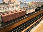 HO Trains- 3 PRR Cars -Lima Italy, Swift Ref. Line, Chesapeake Line-Estate-4Ern