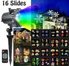 Led Projector Light Show Halloween Xmas Holiday Decoration 16 Slides Dynamic New