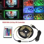 0.5M-1M 5050 RGB LED Strip Waterproof USB LED Light Strips Flexible Tape DC 5V
