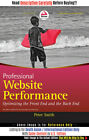 *FAST SHIP* - Professional Website Performance: Opti, 1E by Peter Smit