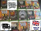 XBOX 360 GUITAR HERO ROCKBAND MEGA BUNDLE - Select your game - Legends Rock etc
