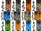 Handmade 3 or 5 Light Turkish Moroccan Asian Ottoman Tiffany Mosaic Floor Lamp