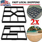 Path Walk Maker Walkmaker Mold Driveway Stepping Stone Paving Pavement Mold LOT image