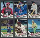 cards prints - 2017 Topps Update Variation Short Print SP - Complete Your Set, Pick Your Player
