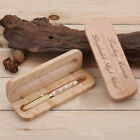 Engraved Ballpoint Pen & Case Wooden Personalised Executive Business Gift Box