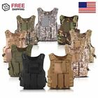 Tactical Military SWAT Police Airsoft Molle Combat Assault Plate Carrier Vest OY